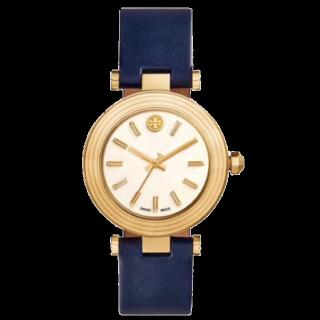 このコーデで使われているTORY BURCHの腕時計[ゴールド/ネイビー/ホワイト/ベージュ]