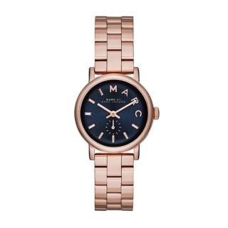 このコーデで使われているMarc by Marc Jacobsの腕時計[ネイビー/ピンク/ゴールド]