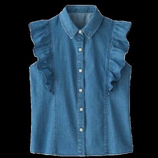 このコーデで使われているIMAGEのTシャツ/カットソー[ブルー]