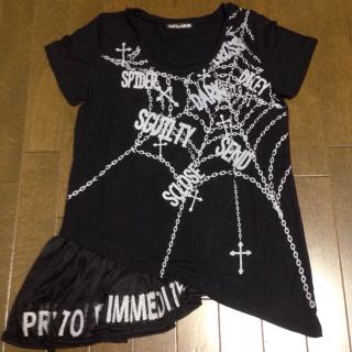 このコーデで使われているGHOST OF HARLEMのTシャツ/カットソー[ブラック]