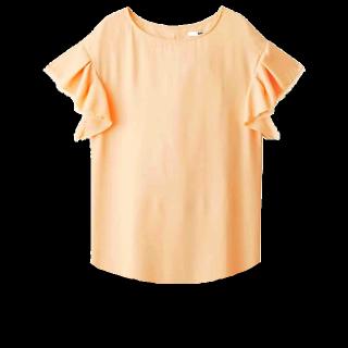 このコーデで使われているROPE' PICNICのTシャツ/カットソー[オレンジ]