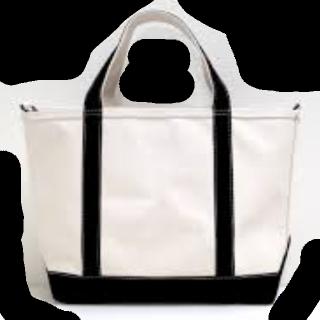 このコーデで使われているL.L.Beanのトートバッグ[ホワイト/ブラック]