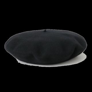 このコーデで使われているベレー帽[ブラック]