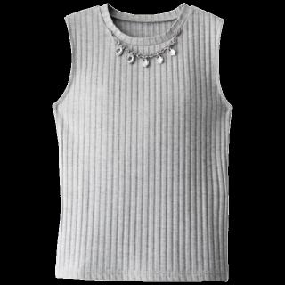 このコーデで使われているGRLのTシャツ/カットソー[グレー]