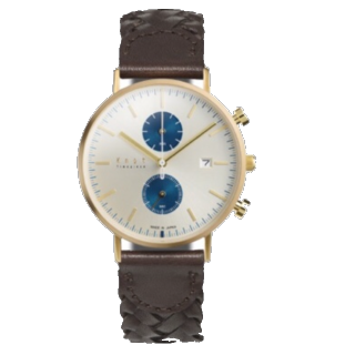 このコーデで使われているKNOTの腕時計[ブラウン]