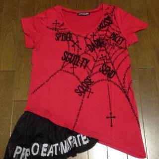 このコーデで使われているGHOST OF HARLEMのTシャツ/カットソー[レッド]