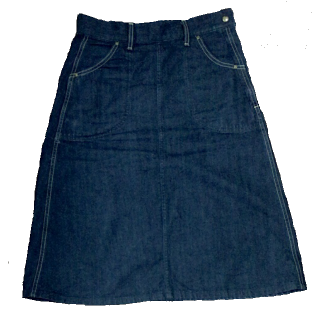 Leeのデニムスカート