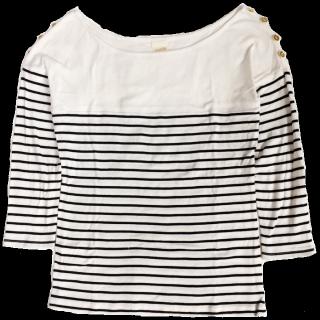 このコーデで使われているrosebulletのTシャツ/カットソー[ホワイト]