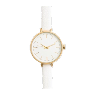 このコーデで使われているH&Mの腕時計[ホワイト]