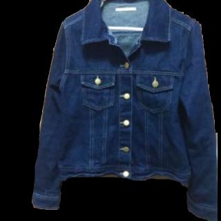 このコーデで使われているRETRO GIRLのデニムジャケット[ネイビー]