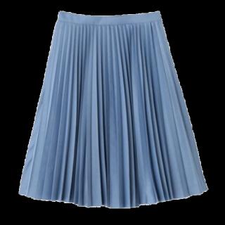 このコーデで使われているJILLSTUARTのひざ丈スカート[ブルー]