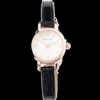このコーデで使われているpassage mignonの腕時計[ブラック]