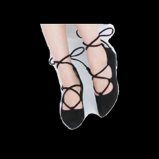 このコーデで使われている神戸レタスのドレスシューズ/ミュール[ブラック]