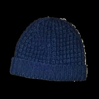 このコーデで使われているUNIQLOのニット帽[ネイビー]