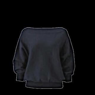 このコーデで使われているGUのニット/セーター[ネイビー]