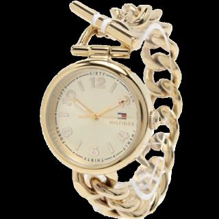 このコーデで使われているTOMMY HILFIGERの腕時計[ゴールド]