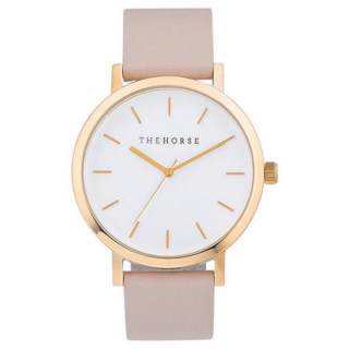 このコーデで使われているThe Horseの腕時計[ホワイト/ベージュ/ピンク]