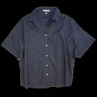 このコーデで使われているniko and...のシャツ/ブラウス[ネイビー]