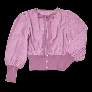 このコーデで使われているRosarymoonのシャツ/ブラウス[ピンク]