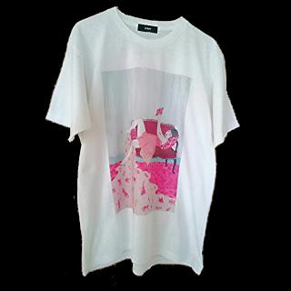 このコーデで使われているDAMMYのTシャツ/カットソー[ホワイト]