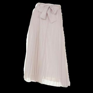 このコーデで使われているApuweiser-richeのプリーツスカート[ピンク]