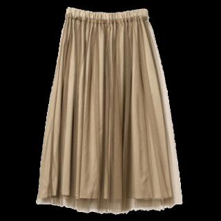 Ray BEAMSのマキシ丈スカート