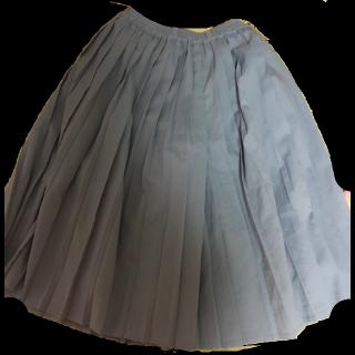 このコーデで使われているRETRO GIRLのガウチョパンツ[ブルー]
