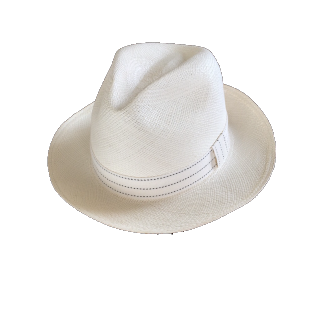 このコーデで使われているEcua-Andinoのハット[ホワイト]
