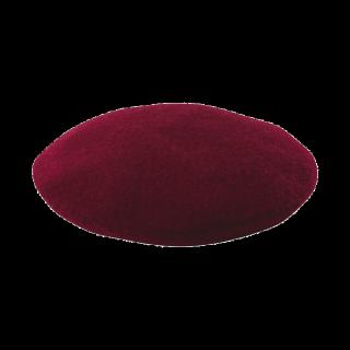 このコーデで使われているGUのベレー帽[ボルドー]