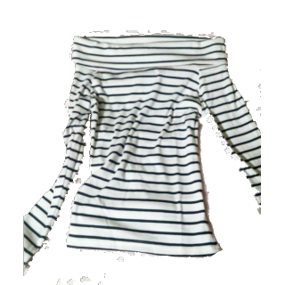 このコーデで使われているSpRay PREMIUMのTシャツ/カットソー[ホワイト/ブラック]