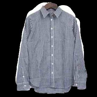 このコーデで使われているしまむらのシャツ/ブラウス[ネイビー]