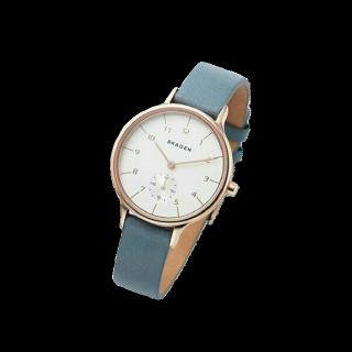 このコーデで使われているSkagenの腕時計[ブルー]