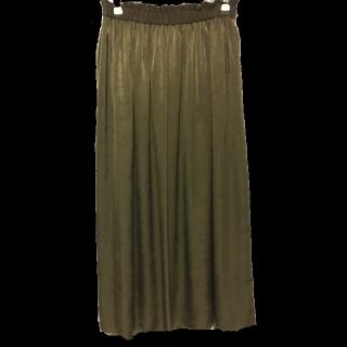 green label relaxingのマキシ丈スカート