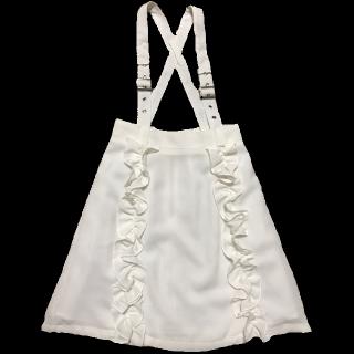 このコーデで使われているAnk Rougeのスカート[ホワイト]