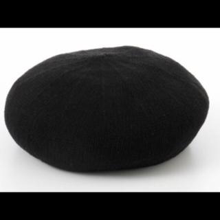 このコーデで使われているLatticeのベレー帽[ブラック]