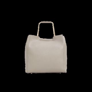 このコーデで使われているZARAのハンドバッグ[ベージュ]