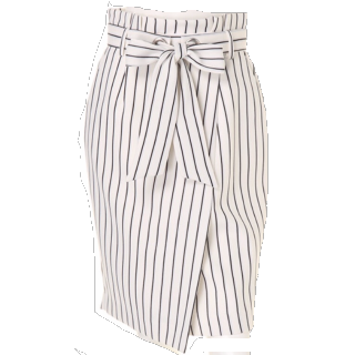 このコーデで使われているApuweiser-richeのタイトスカート[ブラック/ホワイト]