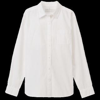 このコーデで使われているMUJIのシャツ/ブラウス[ホワイト]