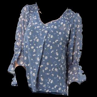 このコーデで使われているwho's who Chicoのシャツ/ブラウス[ブルー]