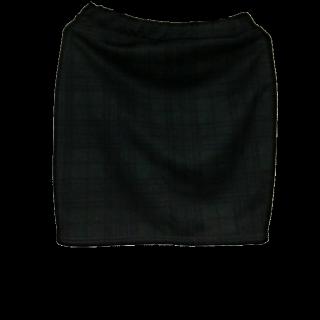 このコーデで使われているタイトスカート[ブラック/カーキ]