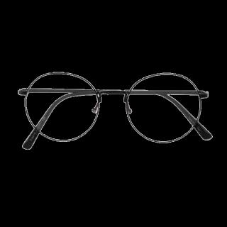 このコーデで使われているdazzlinのメガネ[ブラック/ホワイト]