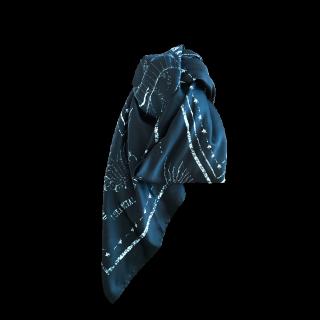 このコーデで使われているH&Mのスカーフ[ブラック]