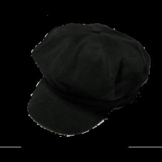 このコーデで使われているキャスケット/マリンキャップ[ブラック]