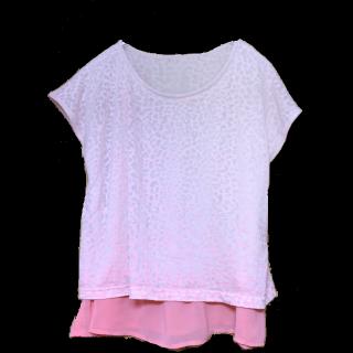 このコーデで使われているOPAQUE.CLIPのTシャツ/カットソー[ピンク]