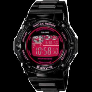 このコーデで使われているBaby-Gの腕時計[ブラック/ピンク]