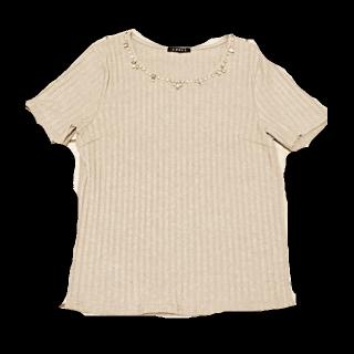 このコーデで使われているINGNIのTシャツ/カットソー[グレー]