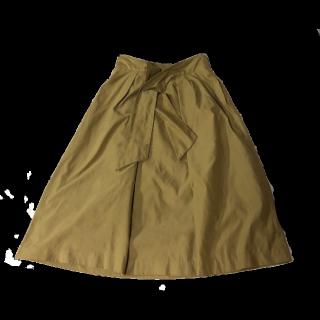 INGNIのひざ丈スカート