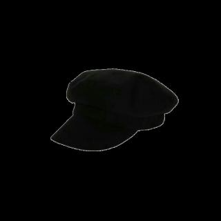 このコーデで使われているAZUL by moussyのキャスケット/マリンキャップ[ブラック]