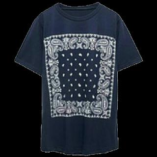 このコーデで使われているRe:EDITのTシャツ/カットソー[ホワイト/ネイビー]