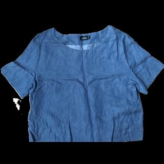 このコーデで使われているKATE SPADE SATURDAYのTシャツ/カットソー[ブルー]